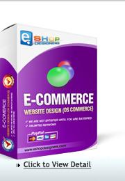 E-commerce website design-osCommerce