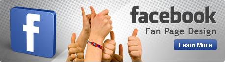 Facebook Fan Page Design