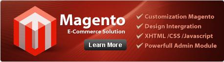 E-commerce magento store